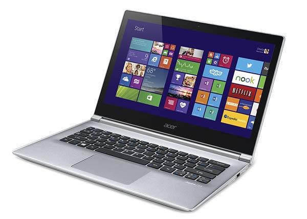 """<span class=""""tagtitre"""">CES 2014 - </span>Acer Aspire V5-561P avec graveur M-Disc, Ultrabook Aspire S3 et Chromebook"""