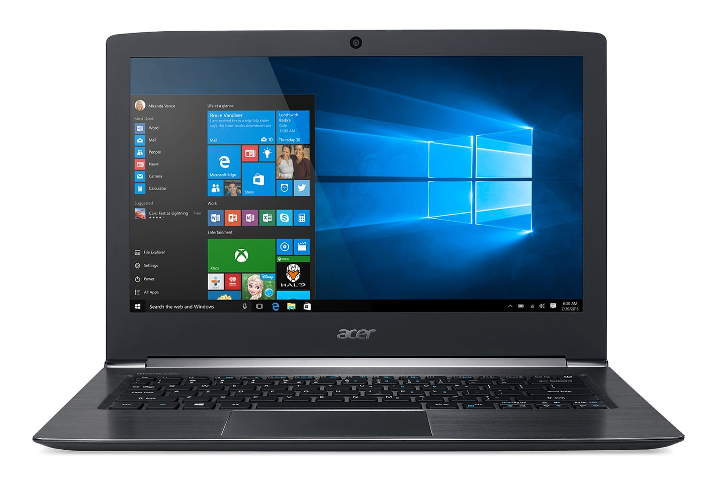 Acer Aspire S5-371-577K, ultrabook 13 pouces SSD256 Full HD IPS i5 (679€)
