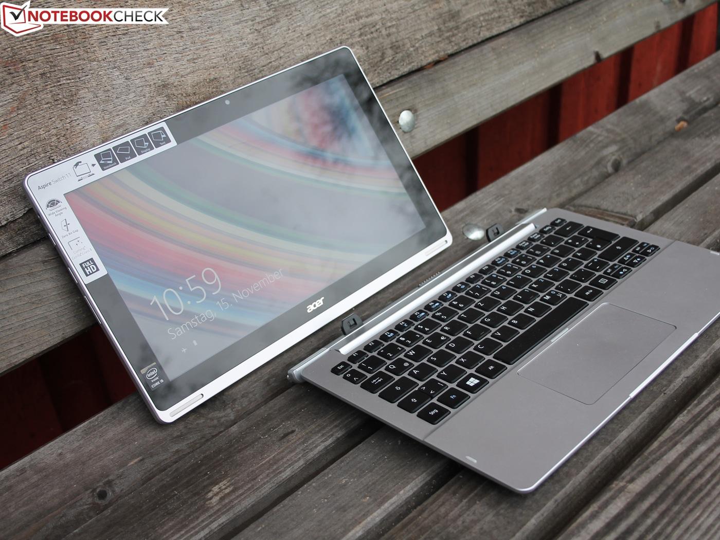 Revue de presse des tests publiés sur le Web (Acer Aspire Switch 11 Pro)