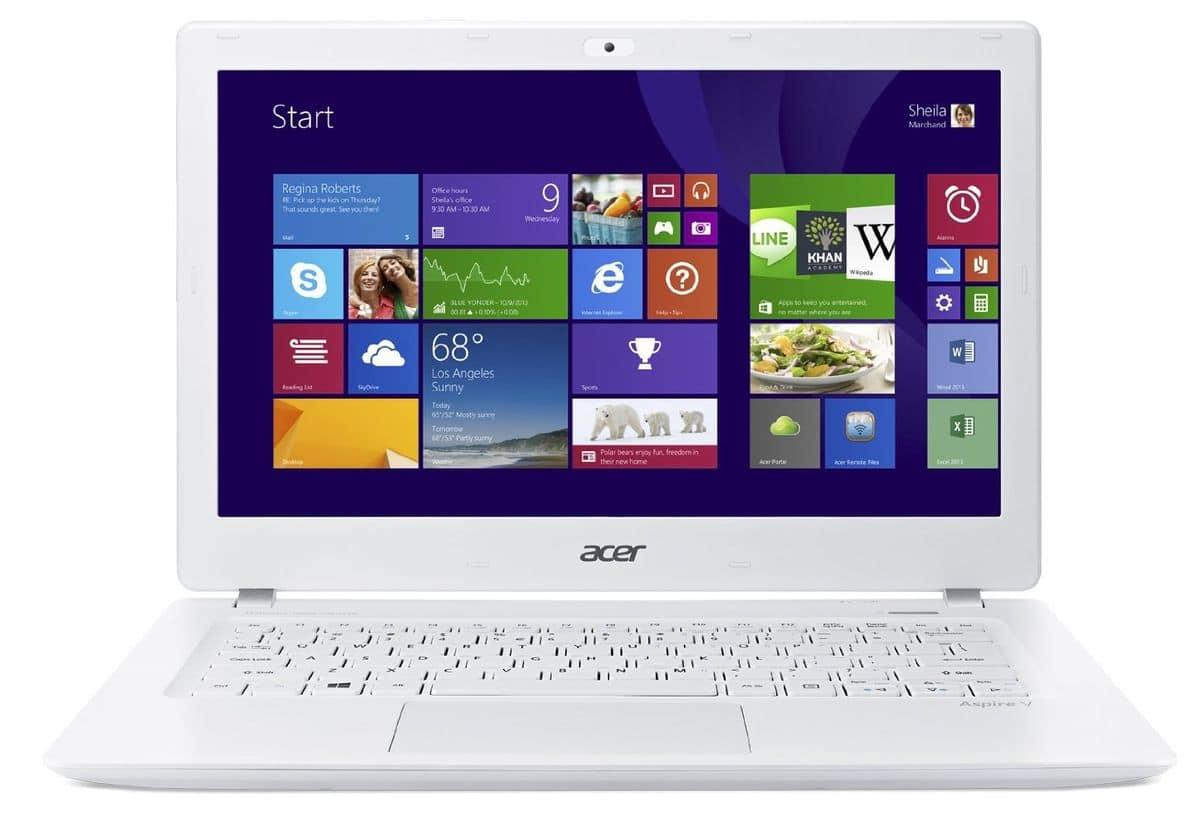 Acer Aspire V3-371-39HE à 499€, Ultrabook 13 pouces mat SSD