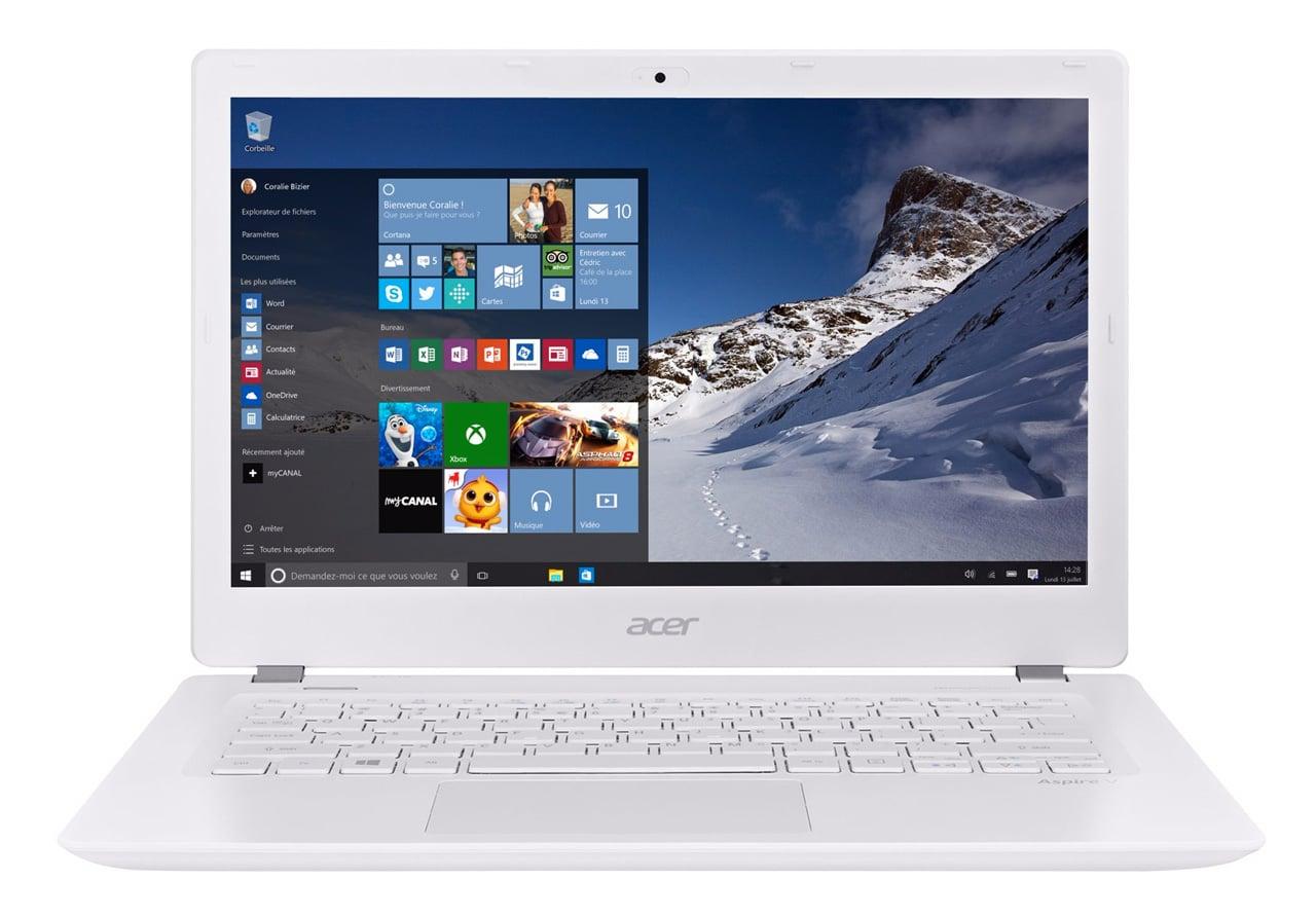 Acer Aspire V3-372-71TK promo 699 euros, Ultrabook 13 pouces Full IPS i7 8Go
