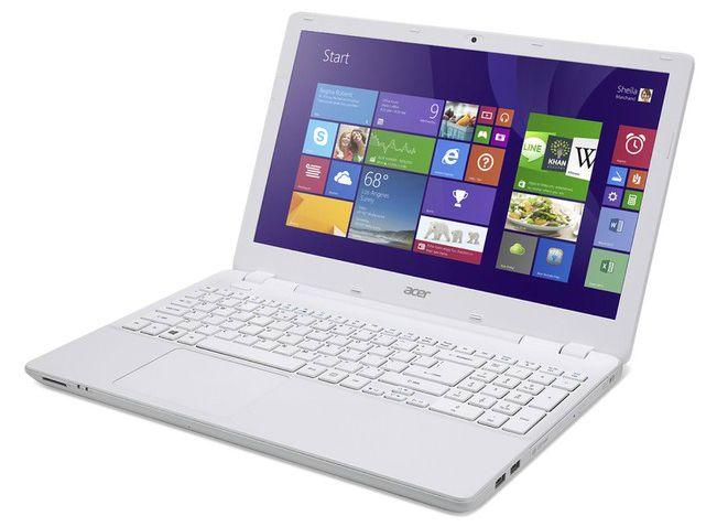 """Acer Aspire V3-572-30SF à 399€, 15.6"""" blanc avec Core i3 Haswell et disque dur de 500 Go"""