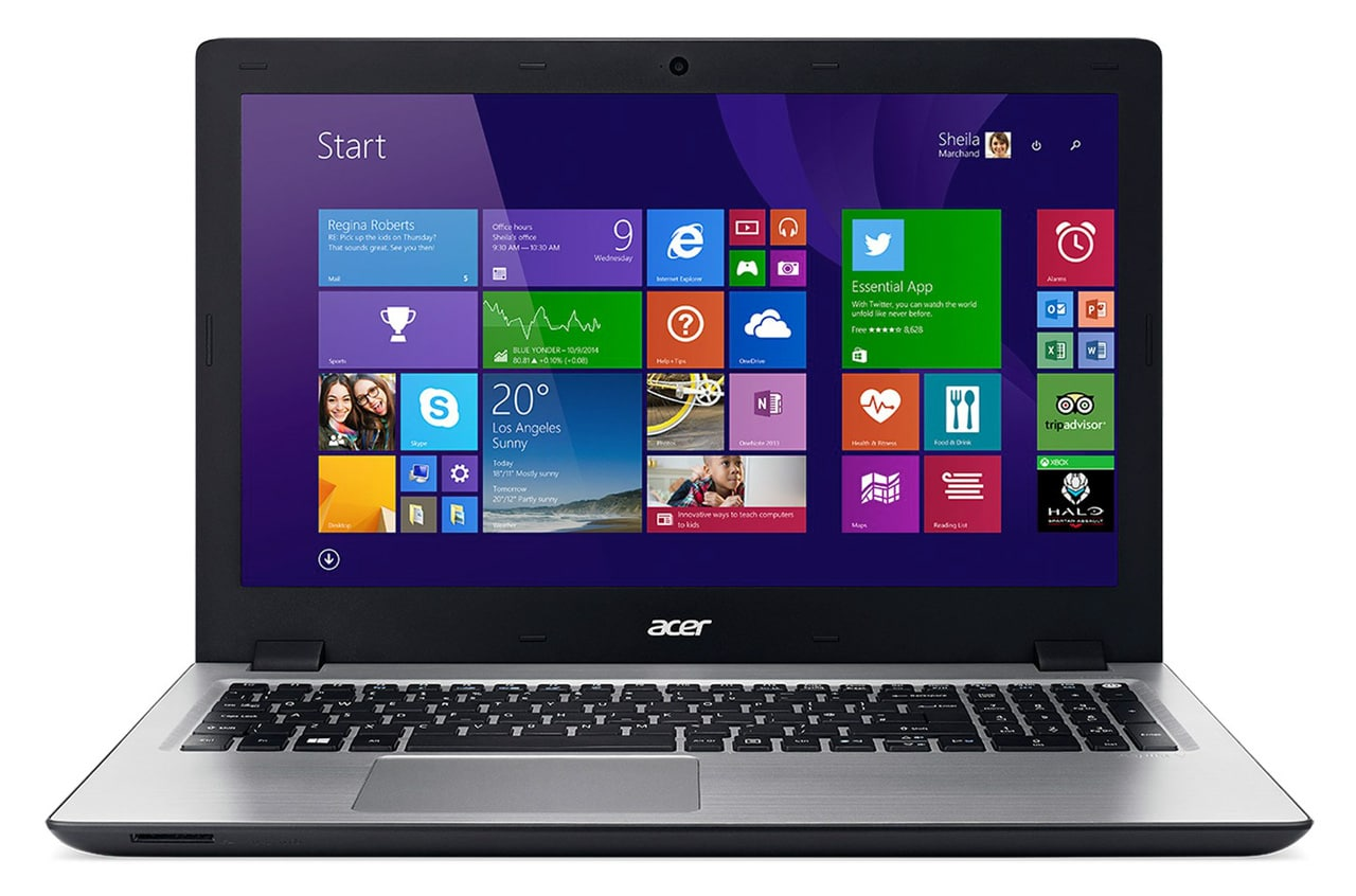 Acer Aspire V3-575G-53SH à 699€, PC portable 15 pouces mat Skylake