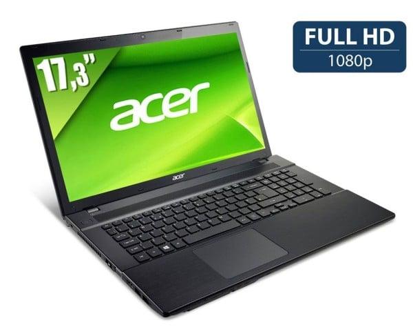 "Acer Aspire V3-772G-747a8G1.06TMakk, 17.3"" Full HD mat à 999€ : Core i7 Haswell, SSD+1 To, GTX 760M, 8 Go"