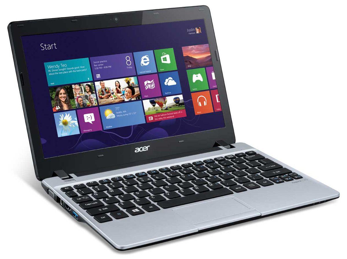 """<span class=""""tagtitre"""">Soldes 199€ - </span>Acer Aspire V5-123-12104G50nss, 11.6"""" mat bureautique : APU Kabini Dual Core E1, 500 Go à 299€"""