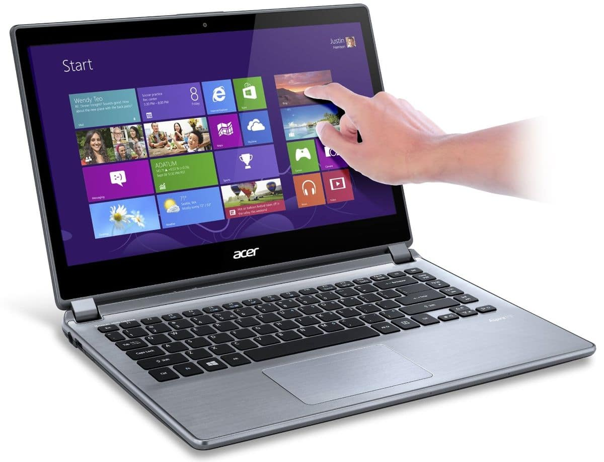 """Acer Aspire V7-482P-34014G52tii, 14"""" tactile avec Core i3 Haswell, SSHD 500 Go, 8h à 499€"""