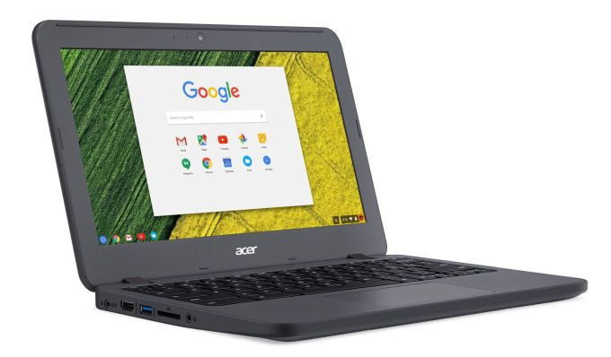 "<span class=""tagtitre"">CES 2017 - </span>Acer Chromebook 11 N7, ultraportable robuste sous Chrome OS"