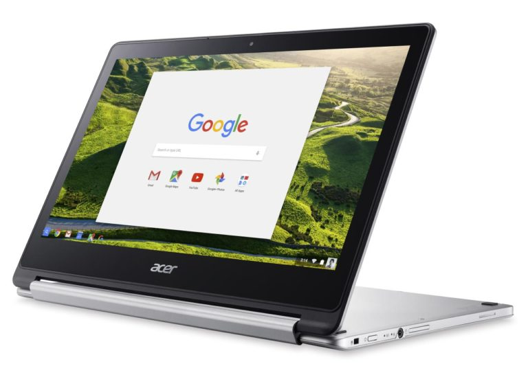 "<span class=""tagtitre"">IFA 2016 - </span>Acer Chromebook R 13, 13 pouces Full HD tactile/Tablette Quad Core"