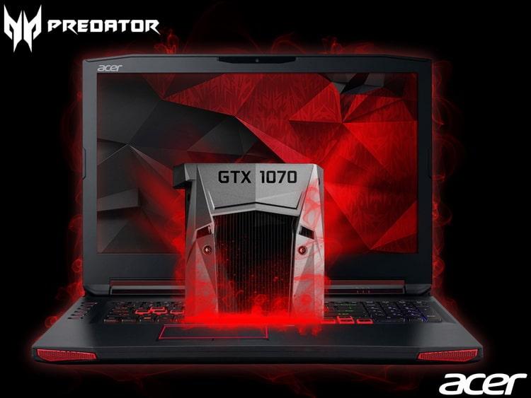 """<span class=""""tagtitre"""">IFA 2016 - </span>Acer Predator 15 et 17, PC portables avec GeForce GTX 1060 et 1070"""