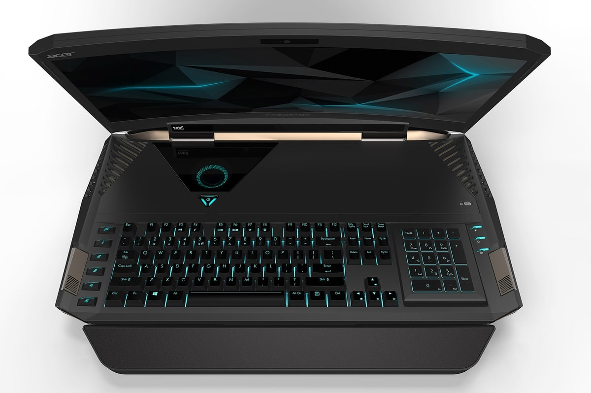 "<span class=""tagtitre"">IFA 2016 - </span>Acer Predator 21 X, 1er PC portable à écran incurvé avec SLI GTX 1080"