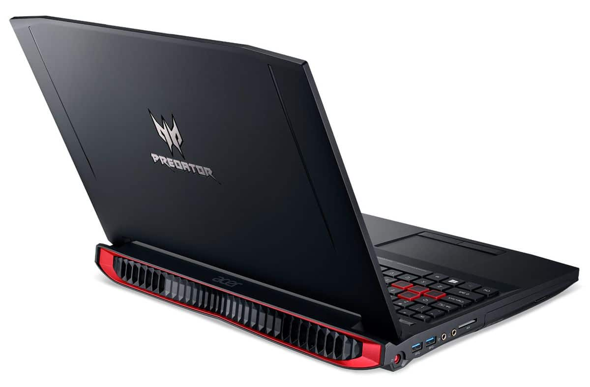 Acer Predator G9-591-71H3, PC portable 15 pouces GTX 980M SSD 16 Go à 1870€