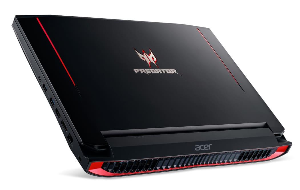 Acer Predator G9-593-59B, PC portable 15 pouces IPS GTX 1060 Kaby SSD 1599€