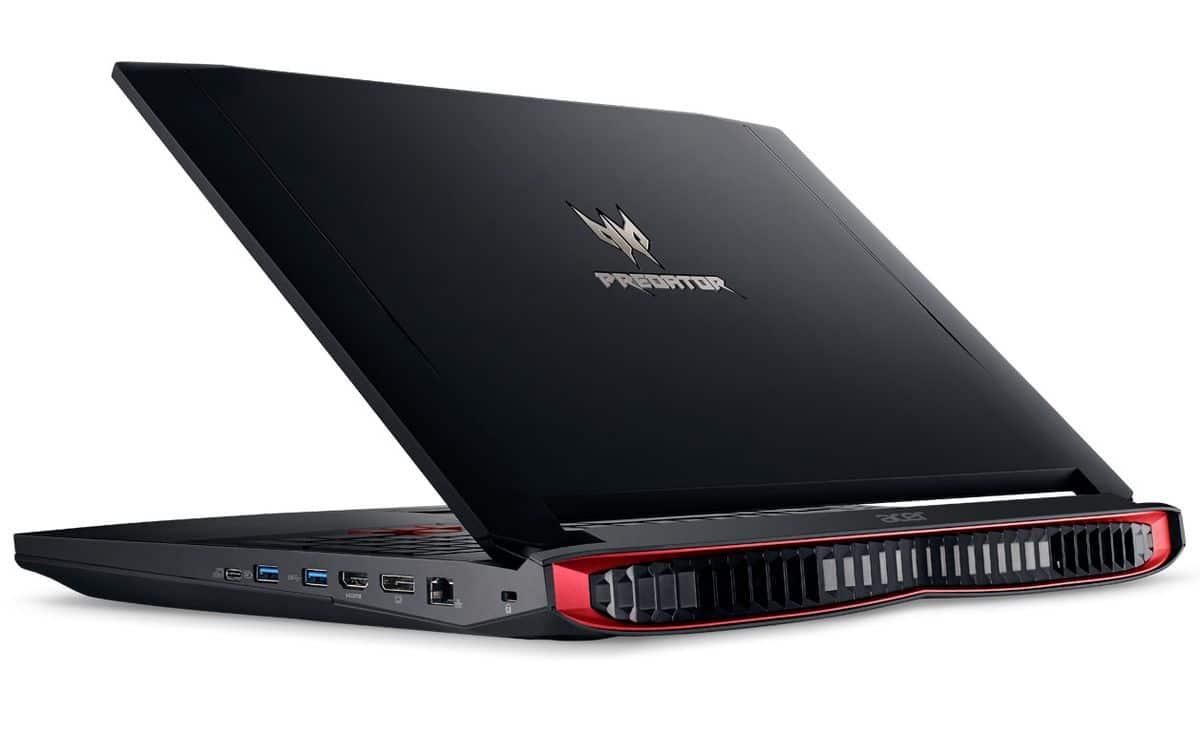 Acer Predator G9-791-730K, PC portable 17 pouces 16 Go 980M SSD promo 1870€