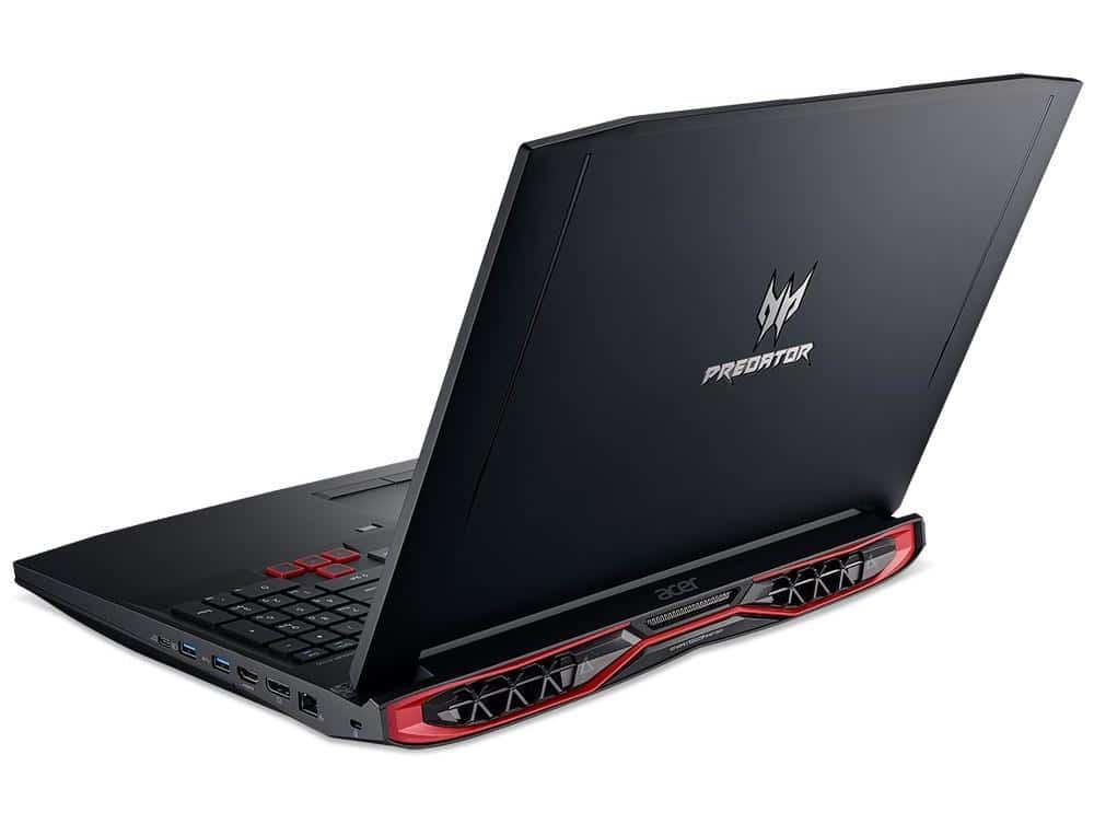 Acer Predator G9-793-75EU, PC portable 17 pouces GTX 1060 i7 Kaby SSD à 1699€