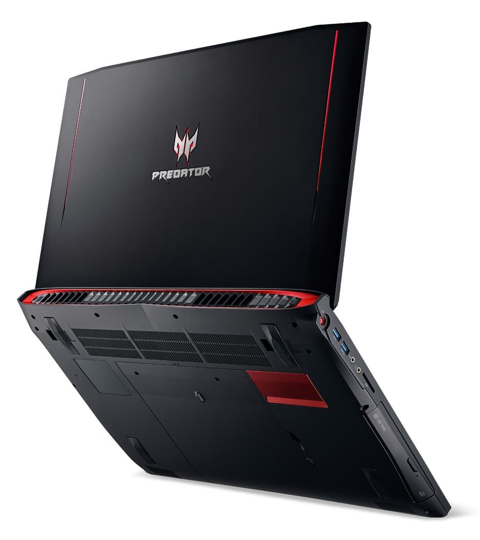 Acer Predator G9-793-78HM, PC portable 17 pouces GTX 1060 i7 SSD 16Go 1699€