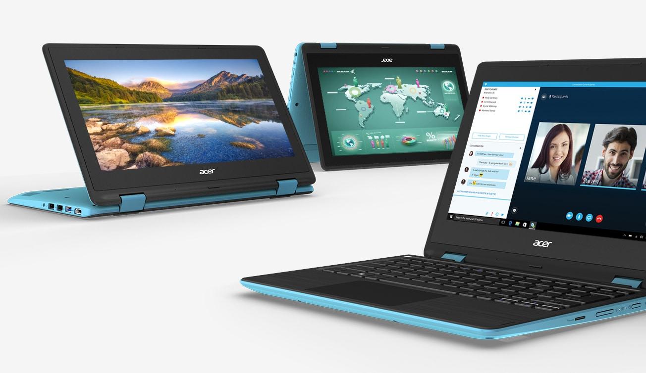 Revue de presse des tests publiés sur le Web (Acer Spin 1 SP111-31)