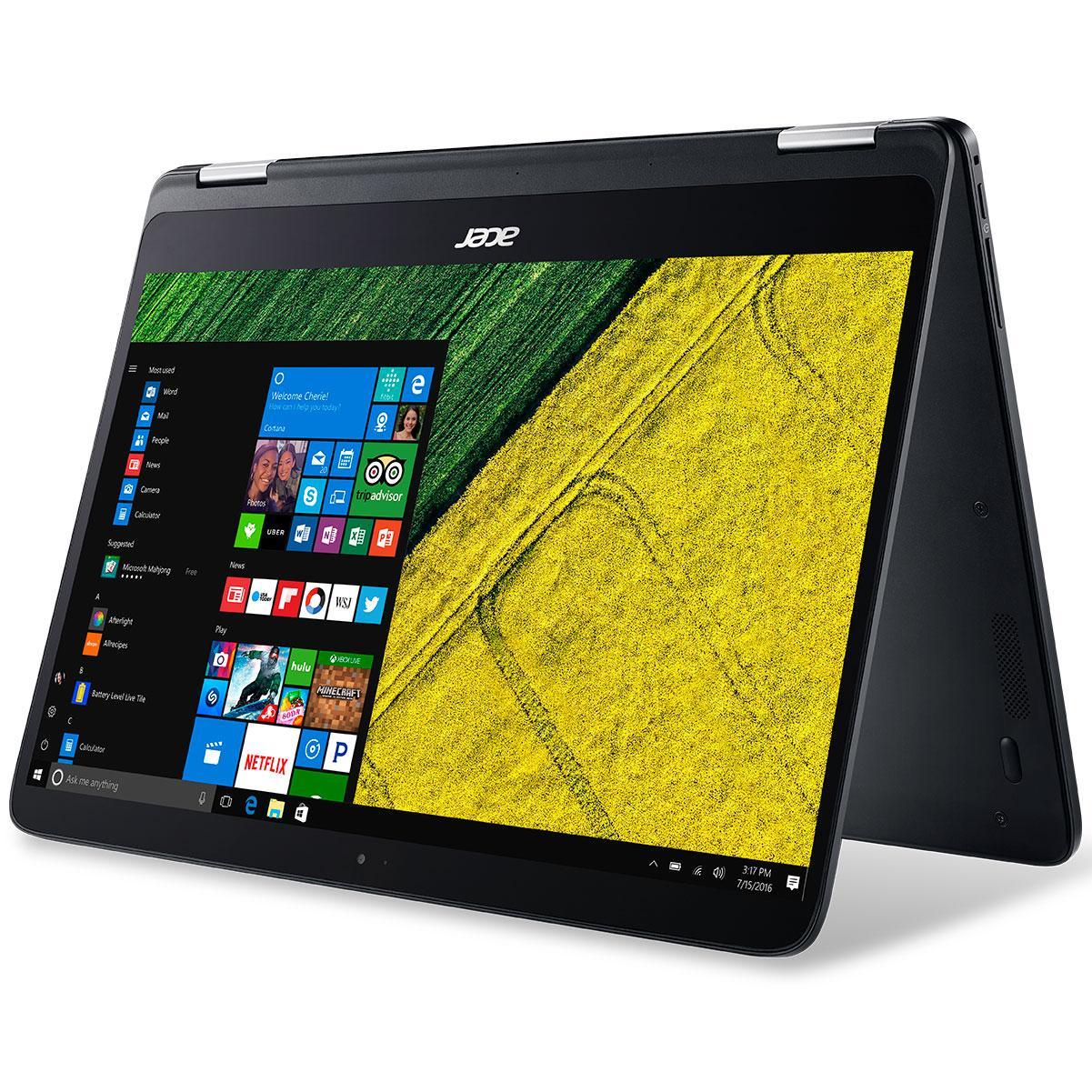 Revue de presse des tests publiés sur le Web (Acer Spin 7 SP714-51)