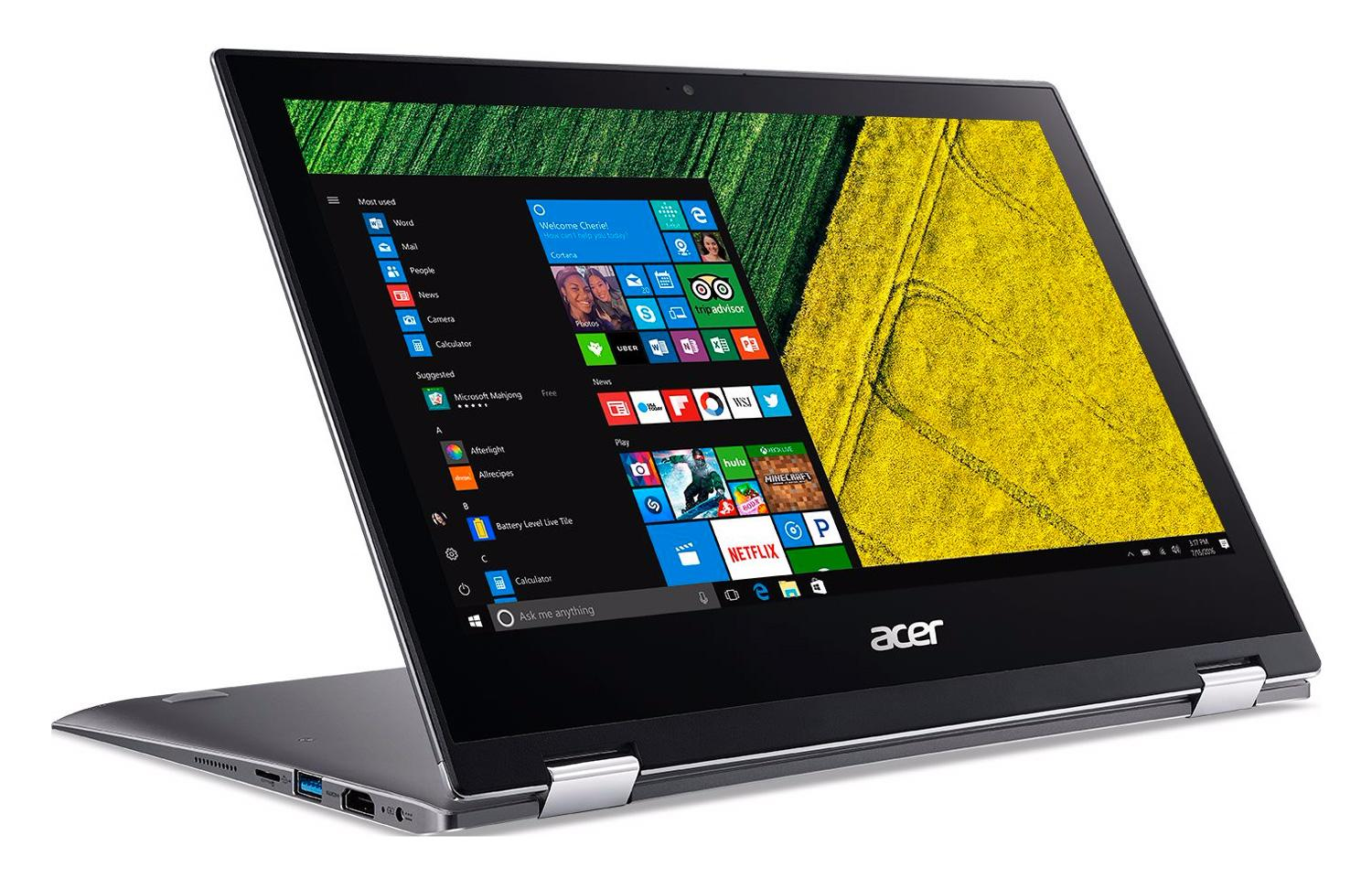 """Acer Spin 1 SP111-32N-P5HH, ultraportable 11"""" Tablette métal Full IPS SSD à 549€"""