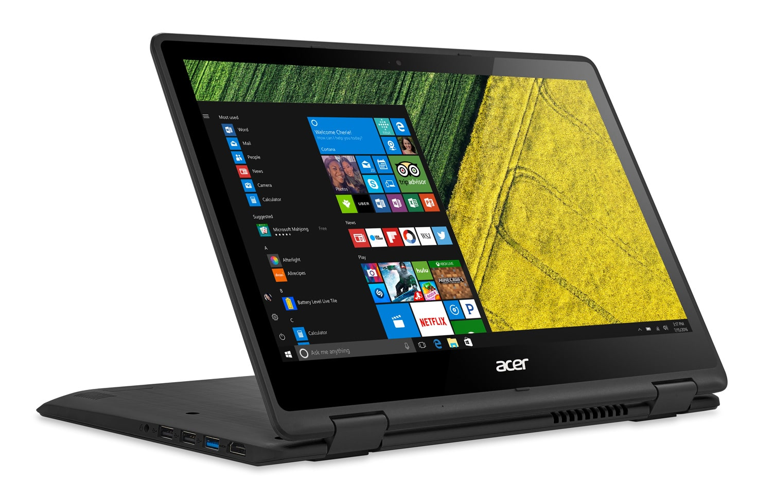 Acer Spin SP513-51-5954 promo 629€, Ultrabook Full/Tablette SSD256 Kaby
