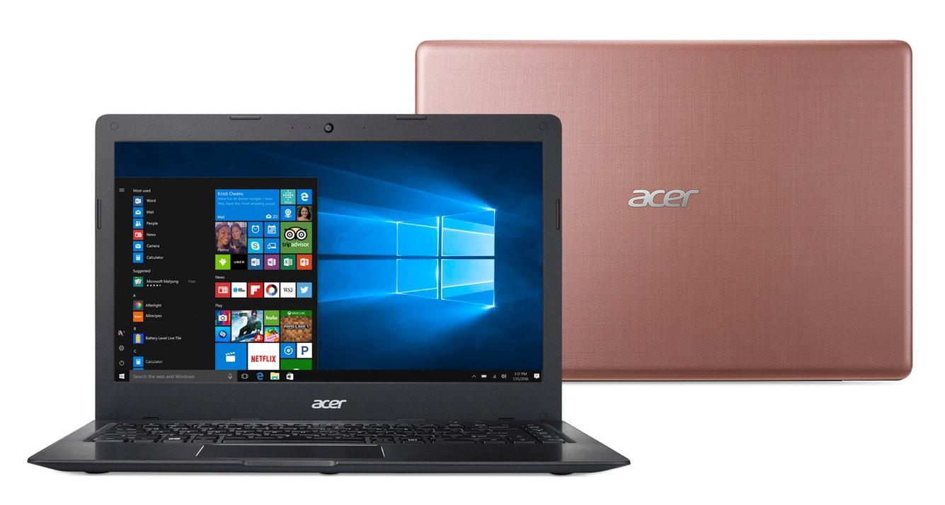 Acer Swift 1 SF114-31-PQT à 549€, Ultrabook 14 pouces SSD rose 12h (399€)
