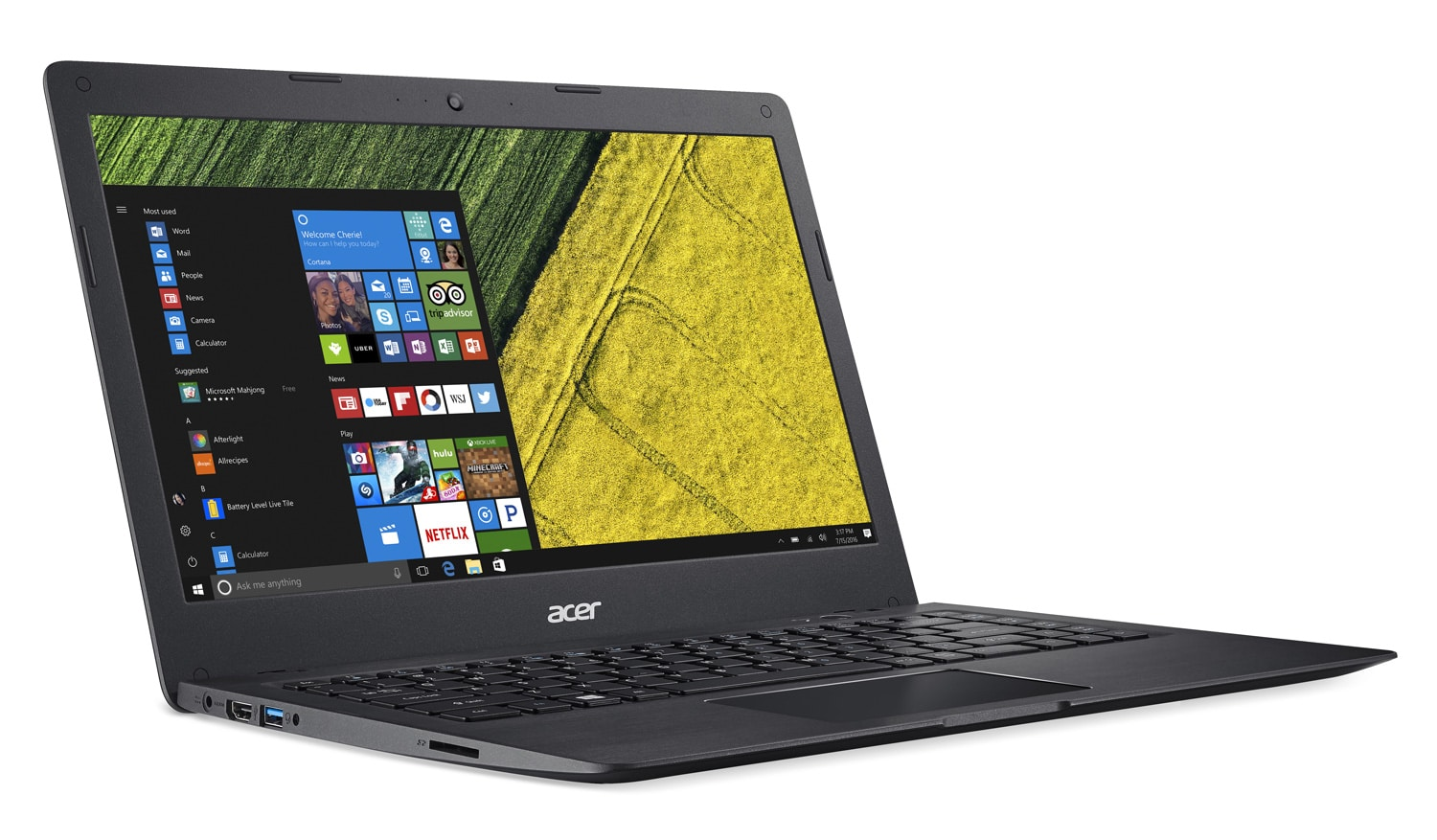 Acer Swift SF114-31-P6BW, ultraportable 14 pouces SSD 128 Go mat promo 399€
