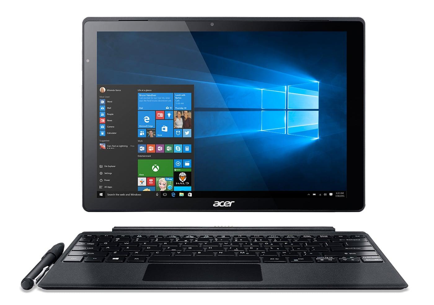 "Acer Switch Alpha SA5-271-39QM, ultrabook/tablette 12"" SSD i3 QHD promo 699€"