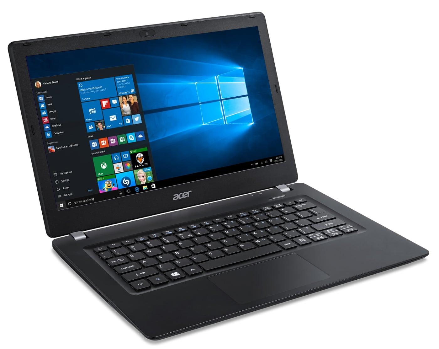 Acer TravelMate P236-M-31SW à 539€, Ultrabook 13 pouces mat SSHD Win 7 Pro