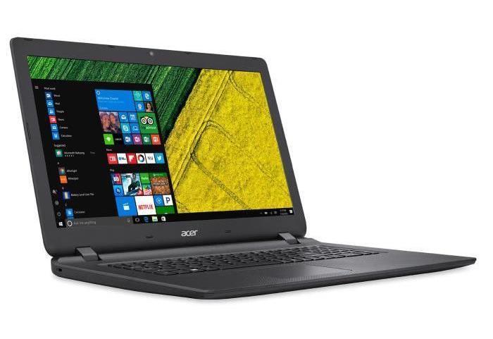 Acer Aspire ES1-732-P6MN, PC portable 17 pouces Quad Apollo Lake noir à 399€
