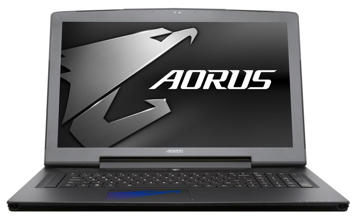 """<span class=""""tagtitre"""">CES 2017 - </span>Aorus met à jour ses PC portables : Kaby Lake, GeForce GTX Pascal"""