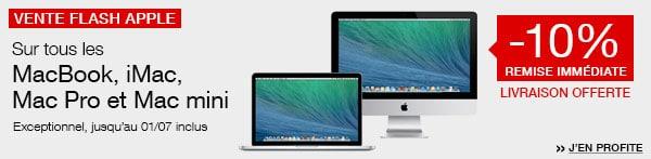 """<span class=""""toptagtitre"""">Bon plan ! </span>10% de remise sur les Mac à la FNAC"""