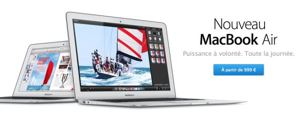 Apple MacBook Air Haswell 2013