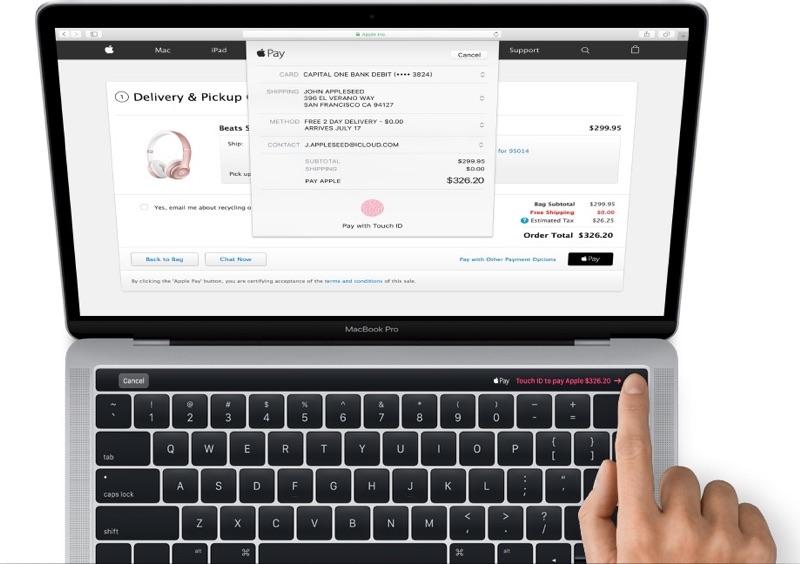 """<span class=""""tagtitre"""">Apple - </span>les nouveaux MacBook Pro avec Touch ID et barre OLED se dévoilent"""