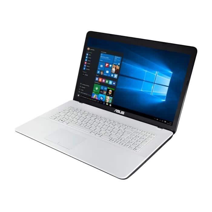 Asus F751SA-TY054T à 429€, PC portable 17 pouces blanc bureautique