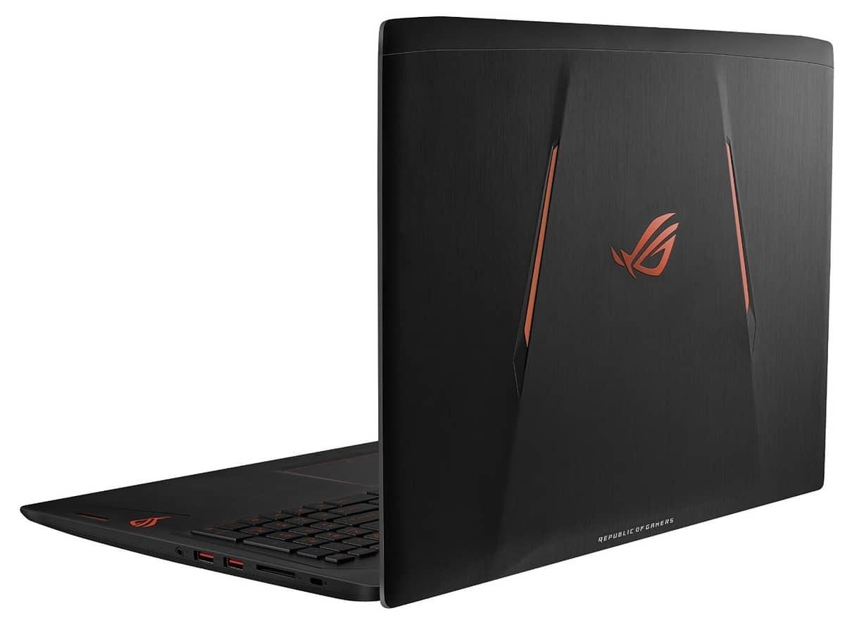 Asus G502VS-FY091T, PC portable 15 pouces gamer GTX 1070 (1199€)