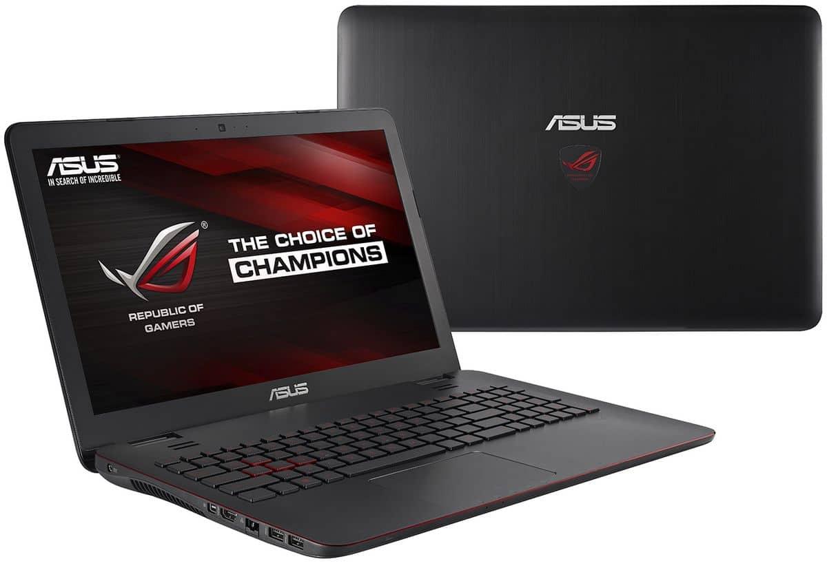 Asus G551JW-DM221H, PC portable 15 pouces Full HD mat à 999€