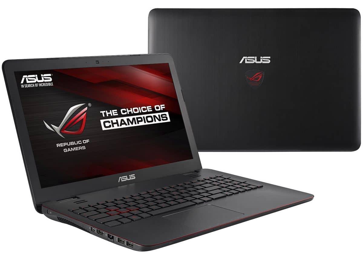 """<span class=""""tagtitre"""">Promo 899€ - </span>Asus G551JW-DM364T, PC portable 15 pouces Full HD mat"""