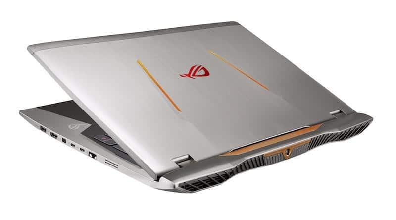 Asus G701VI, nouveau PC portable gamer 17 pouces G-Sync GTX 1080 RAID SSD