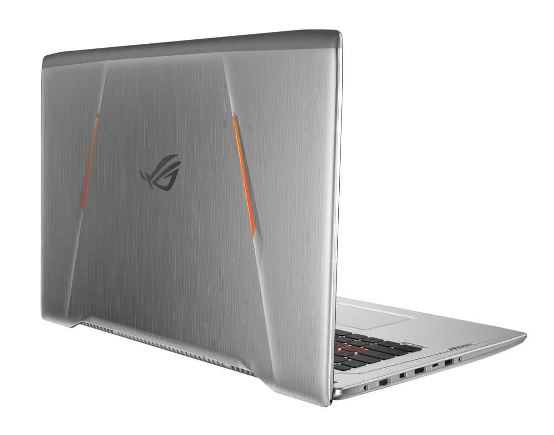 Asus G702VMK-GC183T, PC portable 17 pouces GTX 1060 SSD Quad Kaby 1599€