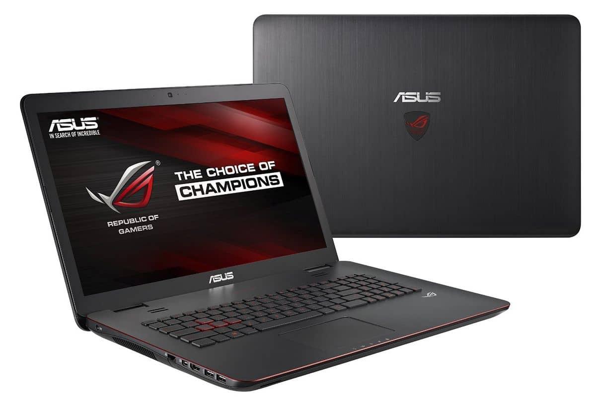 Asus G741JW-T7172T, PC portable 17 pouces Full HD mat vente flash 1299€