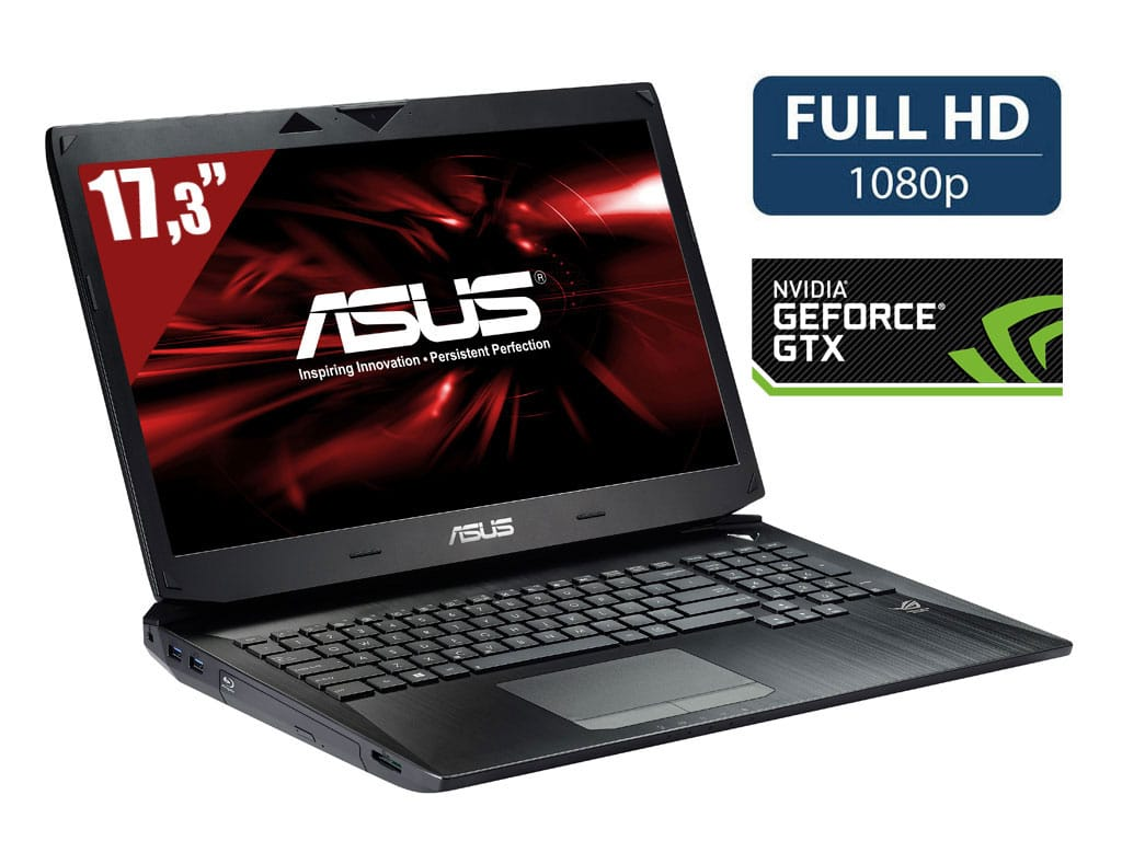 "Asus G750JH-T4071H, 17.3"" Full HD mat vente flash 1699€ : GTX 780M, i7 Haswell, 16 Go, 1.5 To 7200tr, Blu-Ray"