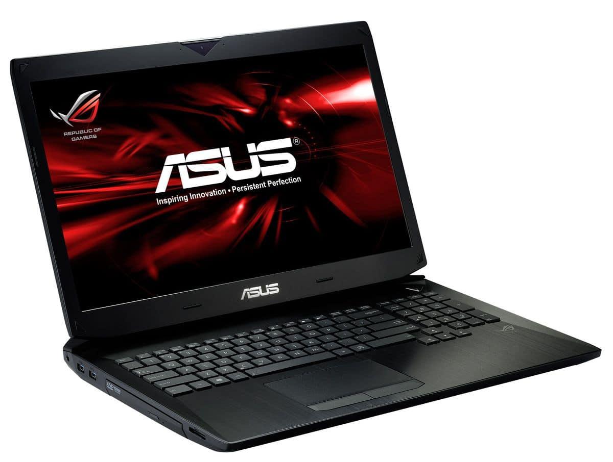 """Asus G750JW-T4075H, 17.3"""" Full HD mat : GTX 765M, i7 Haswell, 16 Go, 750 Go 7200tr à 1289€ (-10%)"""