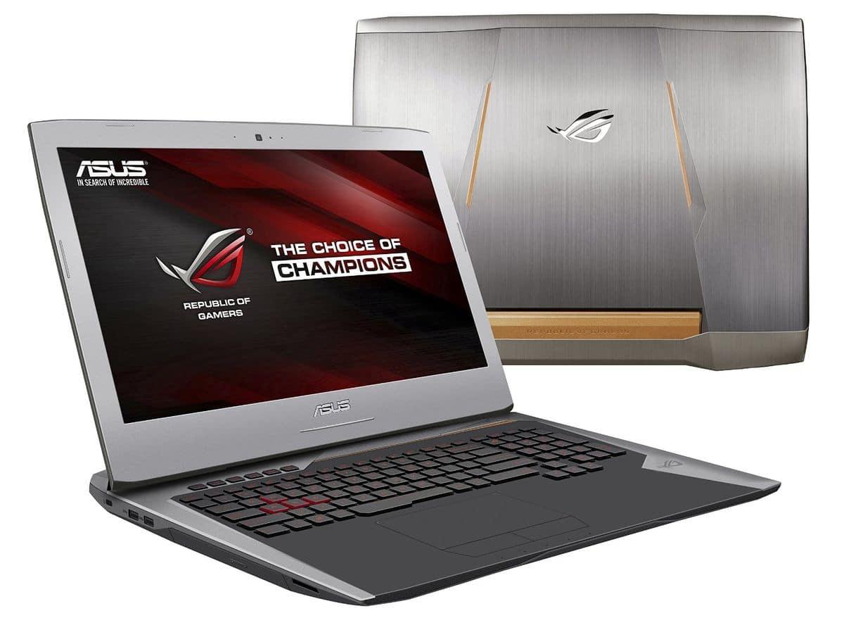 "<span class=""tagtitre"">Promo 1299€ - </span>Asus G752VL-GC046T, PC portable 17 pouces Full HD mat gamer"
