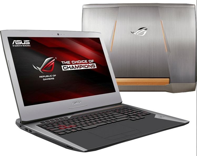 Asus G752VM-GC006T, PC portable 17 pouces IPS GTX 1060 Core i7 (1299€)