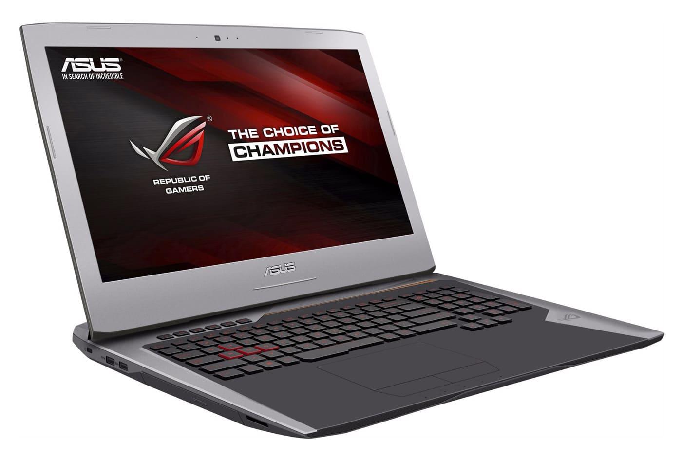 """<span class=""""tagtitre"""">Promo - </span>Asus G752VM-GC052T, PC 17 pouces IPS G-Sync GTX 1060 16Go 1299€"""