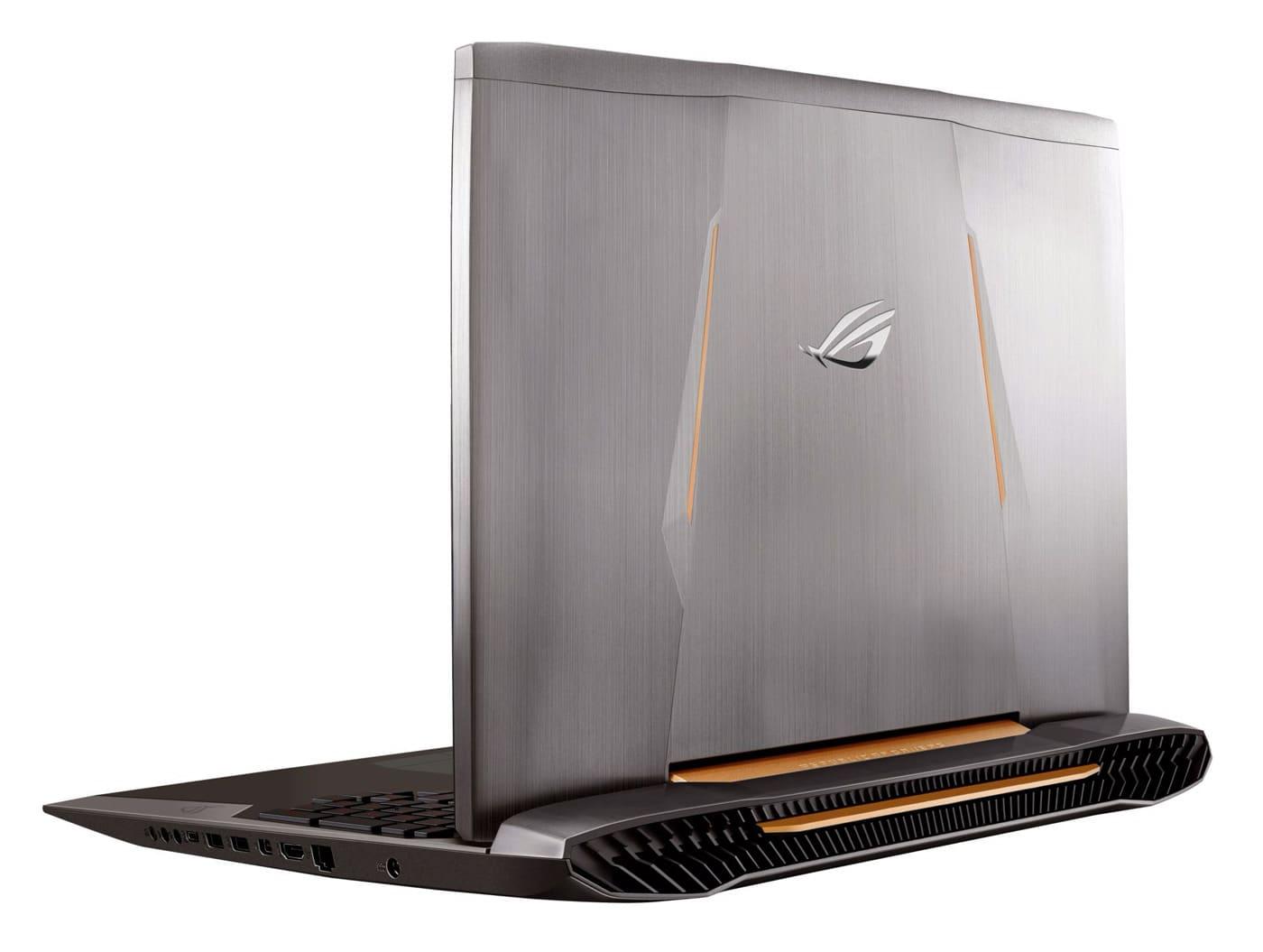 Asus G752VS-BA202D, PC portable 17 pouces G-Sync GTX 1070 SSD256 i7 1999€