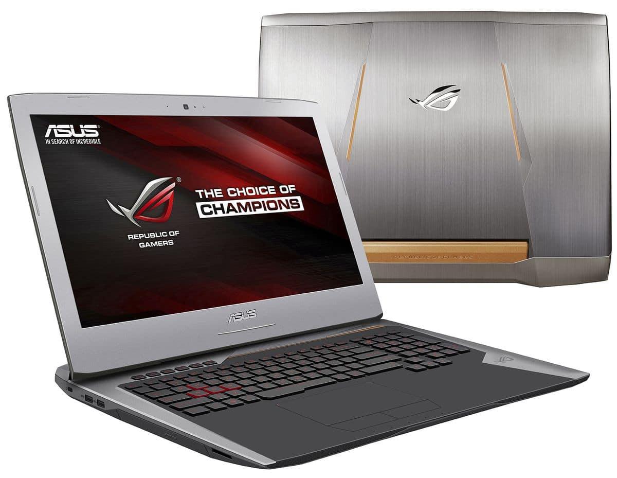 Asus G752VY-GC063T, PC portable 17 pouces GTX 980M 8 Go, SSD à 1999€
