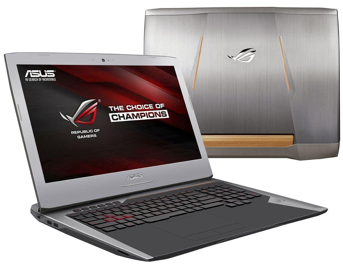 "<span class=""tagtitre"">Promo 2499€ - </span>Asus G752VY-GC431T, PC 17 pouces 32Go 980M SSD512, 2849€"