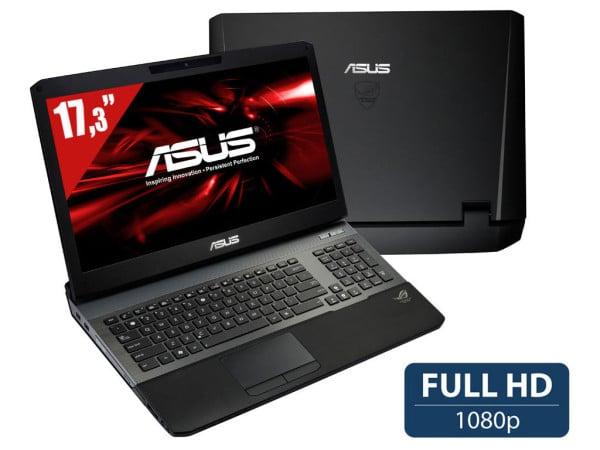 "Asus G75VW-T1465H, 17.3"" Full HD mat : Core i7, GTX 660M, 1 To 7200tr à 999€"