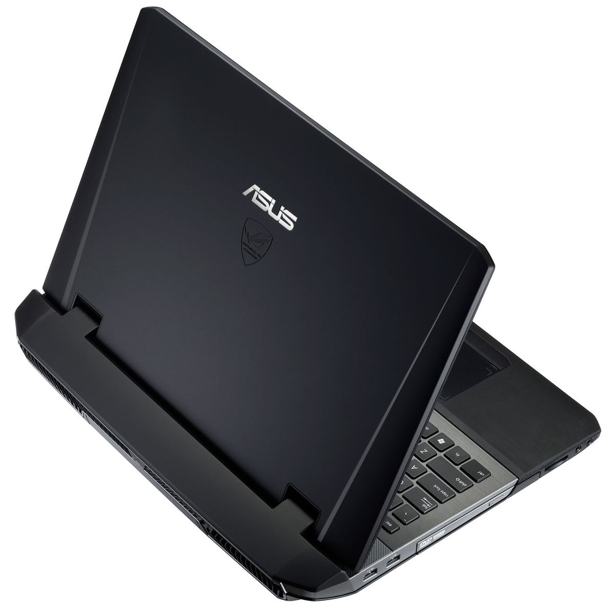 "Asus G75VX-T4198H à 1499€, 17.3"" Full HD mat : GTX 670MX, Blu-Ray, Core i7 Ivy Bridge, 16 Go, 7200tr"