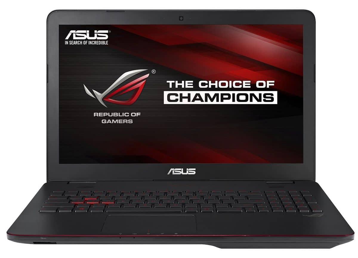 Asus GL551JW-DM410T à 799€, PC portable 15 pouces GTX 960M Quad i7 8Go
